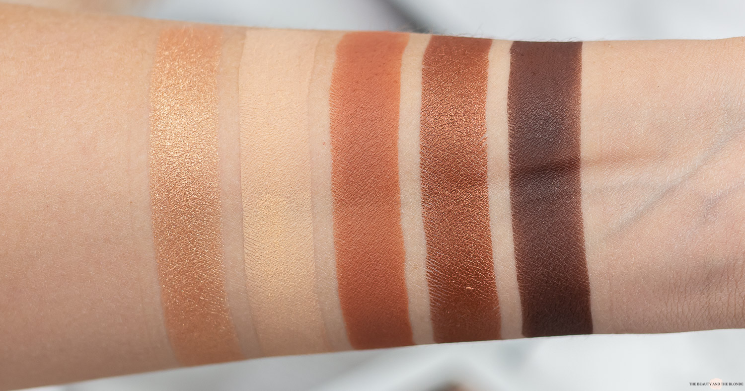 Catrice 5 in a box palette warm spice look review