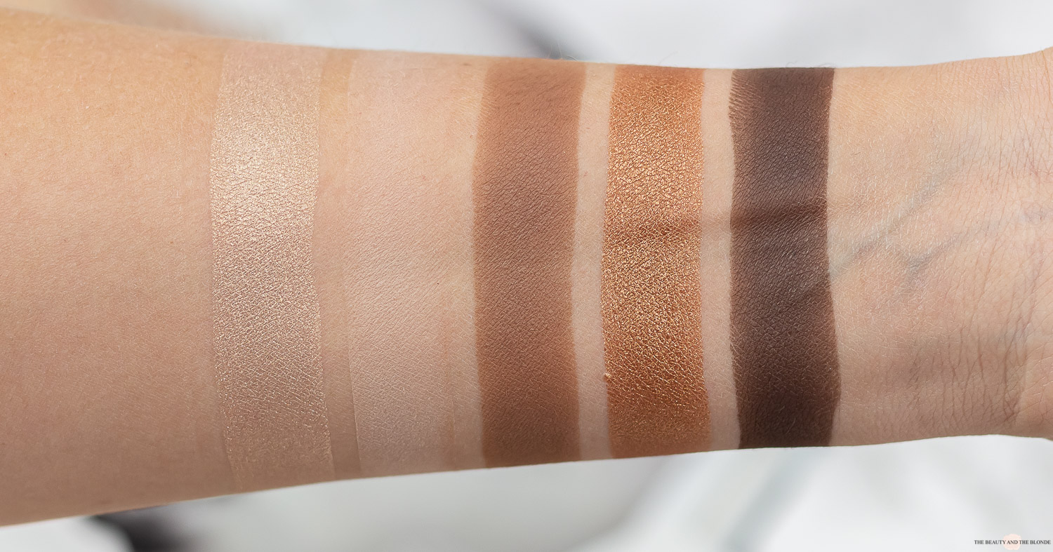 Catrice 5 in a box palette golden nude look review