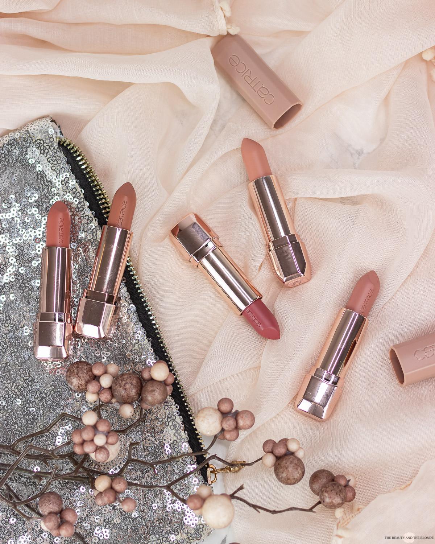 Catrice Full Satin Nude Lipsticks Review