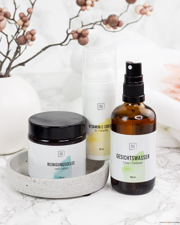 Incipedia Hautpflege Reinigungsgelee Vitamin C Creme Gesichtswasser
